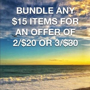 Bundle and SAVE on $15 Items!